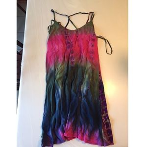 Colorful Dress- Size Large